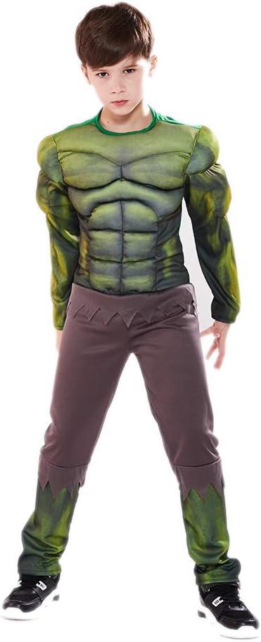 YXRL Niños Hulk Cosplay Disfraces Musculares Niños Mono Halloween ...