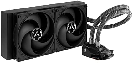 ARCTIC Liquid Freezer II 280 - Multi Compatible All-in-One CPU AIO Water Cooler, Compatible with Intel & AMD, Efficient PWM Controlled Pump, Fan Speed: 200-1700 RPM (Controlled via PWM) - Black: Amazon.co.uk: Computers & Accessories