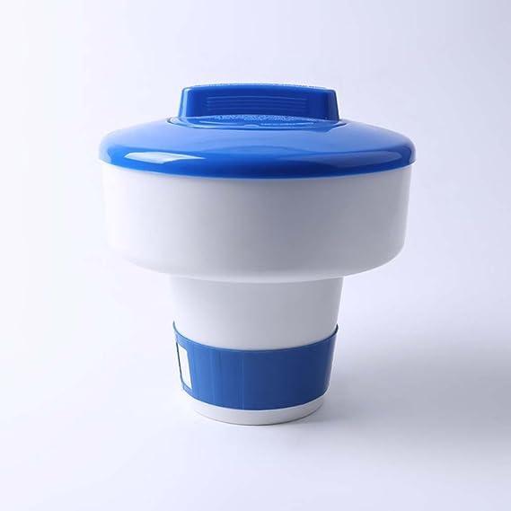 Crewell - Dispensador de Cloro para Tableta de SPA química, dispensador de Productos químicos flotantes, 5 cm: Amazon.es: Jardín