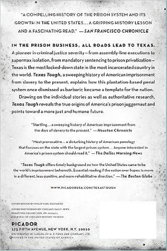 Texas Tough: The Rise of America's Prison Empire: Robert Perkinson ...