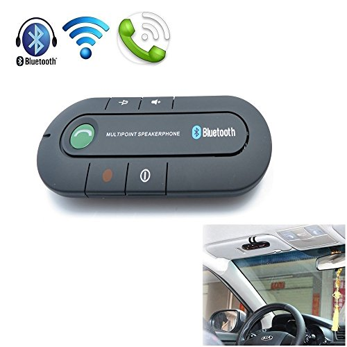 Bluetooth Speakerphone, Wireless Audio Music Receiver Hands Free Bluetooth Car Kit Sun Visor Portable Bluetooth Multipoint Speakerphone (Bluetooth-CZY) by XINGDONGCHI (Image #3)