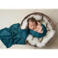 Sunmig Newborn Baby Stretch Wrap Photo Props Wrap-Baby Photography Props (Dar...