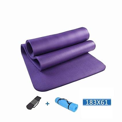 Amazon.com : Jzmai Yoga mat Yoga Mat Lengthened Yoga Mat ...