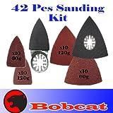 42 Pcs Triangular / Finger Sanding Kit Sanding