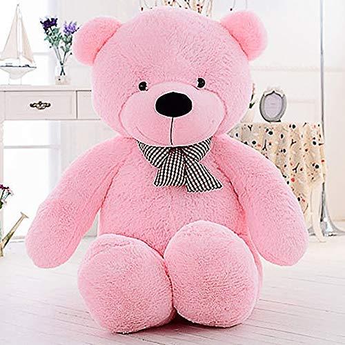 Girl Pink Teddy (MaoGoLan Giant Teddy Bear Big Plush Stuffed Animals for Girls Children Girlfriend Valentine's Day 47 Inch (Pink))