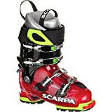 Scarpa Freedom SL Alpine Touring Boot - Women's Scarlet/White, 22.0