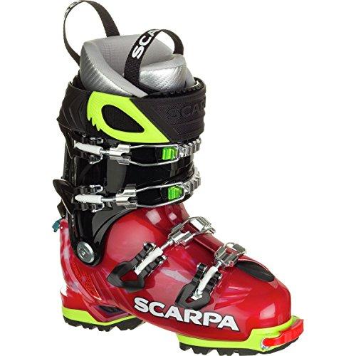 Scarpa Freedom SL Alpine Touring Boot - Women's Scarlet/White, 22.0 by Scarpa