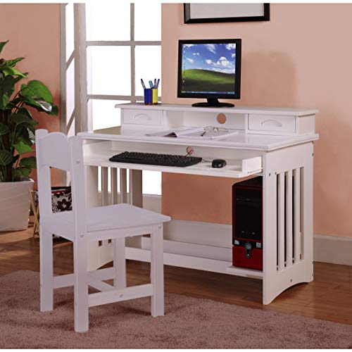American Furniture Classics Student Desk with Hutch and Chair