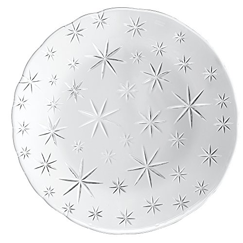 Nachtmann Charger Plate (Nachtmann 95888 Stars Chargerplate (Set of 2), Clear)