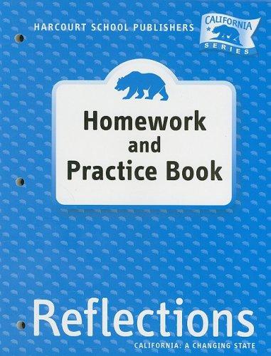 Harcourt School Publishers Reflections: Homework & Practice Book Lif Reflections 07 Grade 4