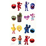 Amscam Sesame Street Tattoos, Multicolor