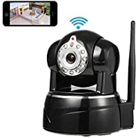 Security Camera, Smart Home Security IP Camera, Sokos 1280x720p Home Surveillance Wireless IP Camera With Microphone Pan/Tilt with 2-Way Audio, Baby Video Monitor Nanny Cam with Motion Detection