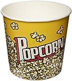 SOLO VP85-00061 Single-Sided Poly Paper Popcorn Tub, 85 oz. Capacity, Popcorn Print (Case of 150)