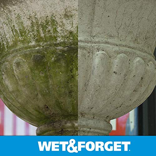 Wet & Forget Outdoor Ready To Use Moss, Mold, Mildew & Algae Stain Remover, 64 OZ. - 804064 by WET & FORGET (Image #4)