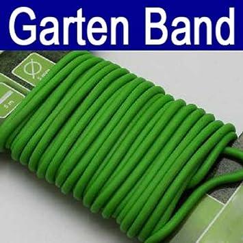Gartenband gummiert 5 m, Garten Haushalt Pflanzen Gummi Draht Band ...