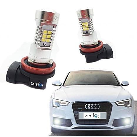 Zesfor® Kit de Bombillas antinieblas LED H11 60 Watios Canbus: Amazon.es: Coche y moto