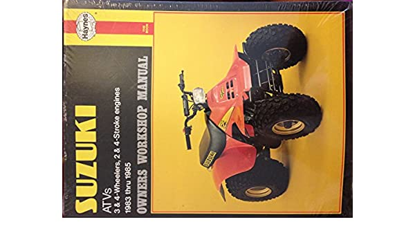 suzuki 4 wheeler repair manual