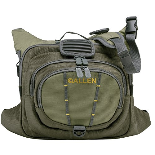 Allen Boulder Creek Fishing Chest Pack, Olive (Chest Fly Fishing Packs)