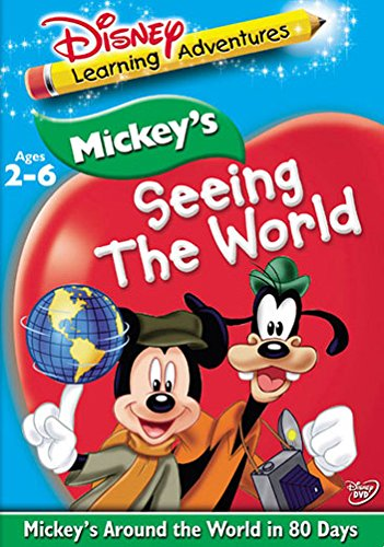 MICKEYS AROUND THE WORLD IN 80 DAYS-SEEING THE WORLD (DVD) (Mickey Around The World In 80 Days)