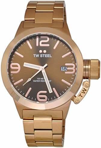 TW Steel Men's CB191 Analog Display Quartz Rose Gold Watch by TW Steel