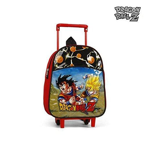 Mochila Escolar con Ruedas Dragon Ball Z 9170: Amazon.es: Ropa y accesorios
