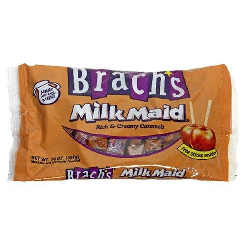 Brach's Milk Maid Rich & Creamy Caramel, 14-Ounce Bags (Pack of 12) by Brach's