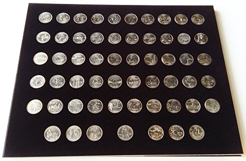 Black Display Insert for the 56 State Quarters (Not Included)