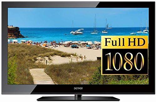 Televisor Full HD LED de Denver LED de 22672cs Display (56 cm, 22 pulgadas) con integrado sintonizador triple Después de aktuellem H.265 estándar, recibe señales de satélite, cable, DVB-T y DVB-T2 sin