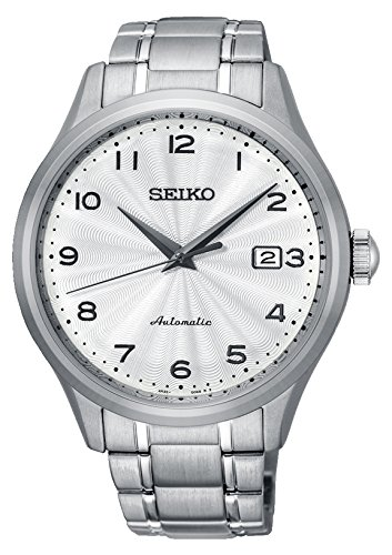 Amazon.com: Seiko Classic Automatic White Dial Mens Watch SRPC17: Seiko: Watches