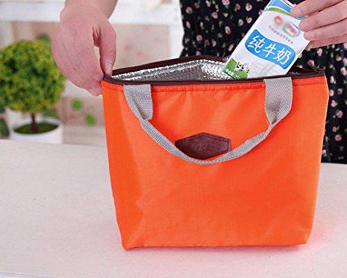 Rawdah - Bolso mochila  para mujer azul azul naranja