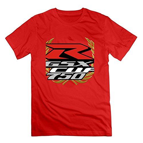 Men Suzuki Gsx-r750 Top Clothing -small Style Personality Print Red Suzuki Gsxr750 Top