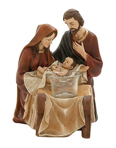 (Woodland Imports 76738 Splendid Holy Family Votive Holder)
