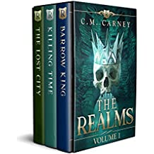 The Realms Books 1 - 3: (An Epic GameLit LitRPG Fantasy) (The Realms Boxed Set)