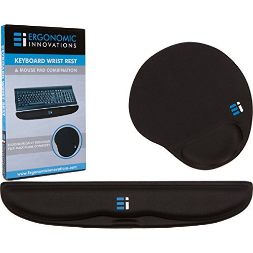 Gel Keyboard Wrist Rest Pad – Mouse Pad with Wrist Rest Support