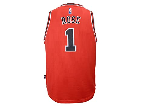 1af413952 Image Unavailable. Image not available for. Color: Chicago Bulls Derrick  Rose adidas NBA ...