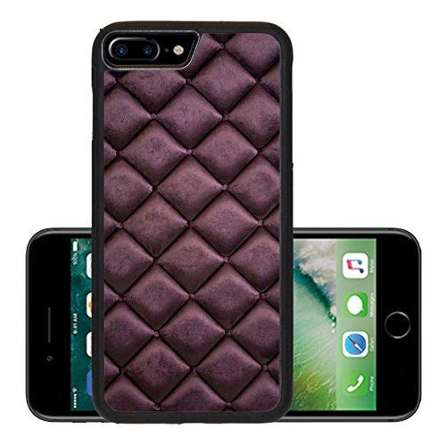 Luxlady Premium Apple iPhone 7 Plus Aluminum Backplate Bumper Snap Case IMAGE 33925218 close up of silk burgundy sofa