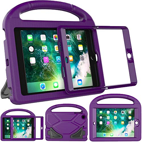 eTopxizu Kids Case for iPad Mini 1 2 3 - Light Weight Shock Proof Handle Stand Cover Case with Built-in Screen Protector for iPad Mini 1 / iPad Mini 2 -