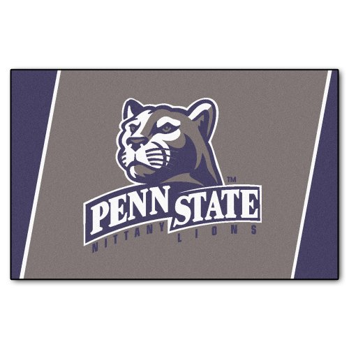FANMATS NCAA Penn State Nittany Lions Nylon Face 4X6 Plush Rug by Fanmats