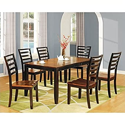 Steve Silver Abaco 7 Piece Rectangular Dining Set