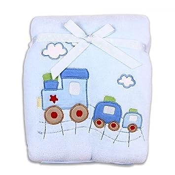Amazon.com : Bebé-muchachos recién nacido extra manta gruesa felpa ...