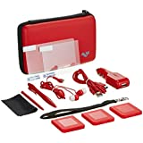 ButterFox 12-in-1 Accessory Travel Pack / Case For New Nintendo 3DS XL Console: Red (New Nintendo 3DS XL - 2015)