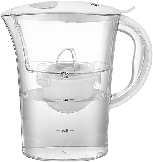 DGYAXIN Jarra Filtro de Agua, Jarra de Agua filtrada 2L 4 Filtro ...