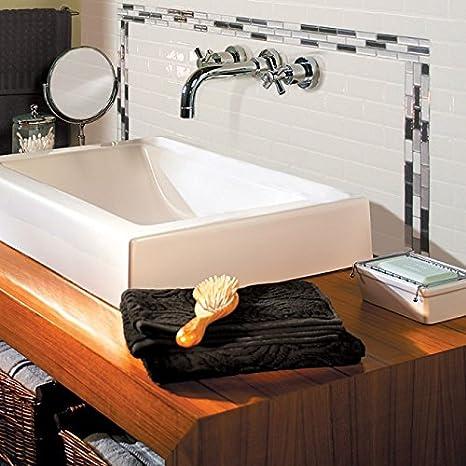Smart tiles subway white 3d gel otm adhesivo para baldosas: amazon ...