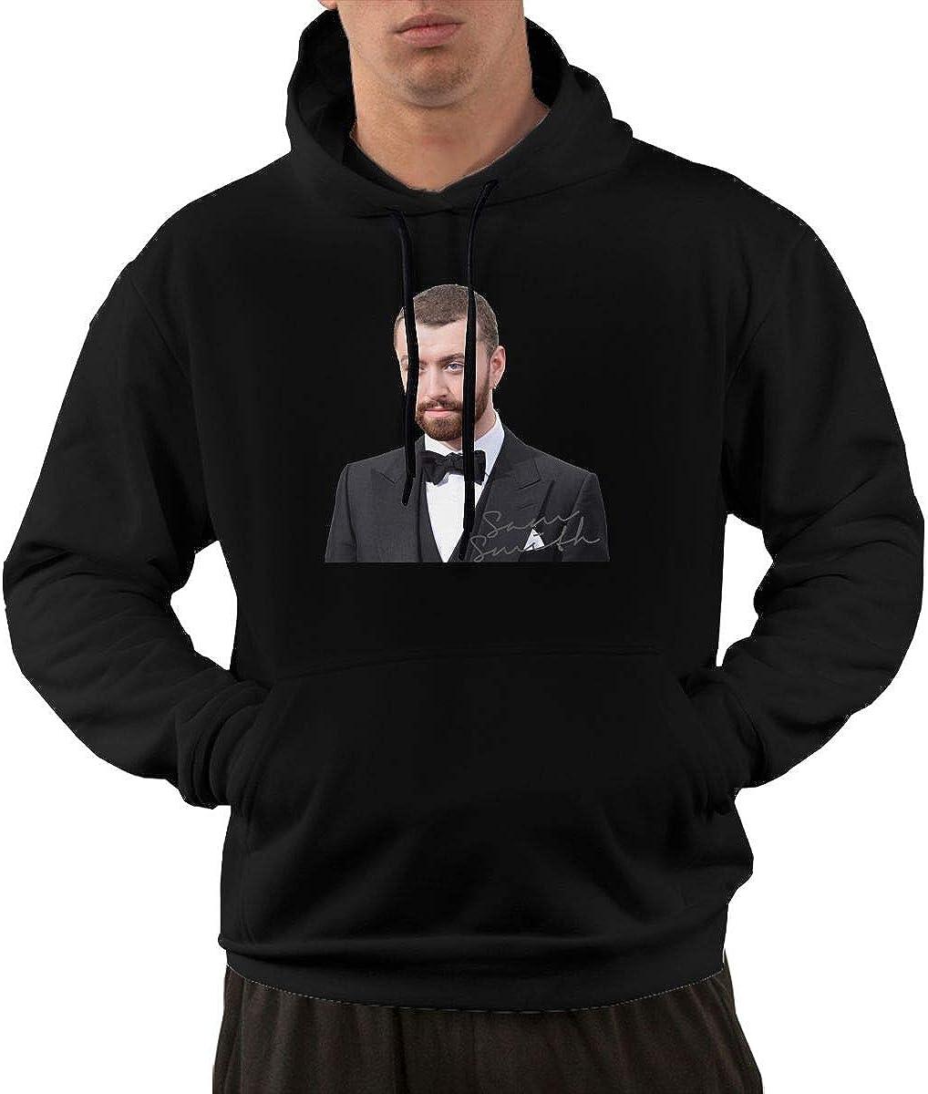 MatthewNiles Sam Smith Men Stylish Drawstring Pocket Hooded