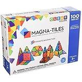 Magna-Tiles 1517888 Clear Colors 100 Piece Set