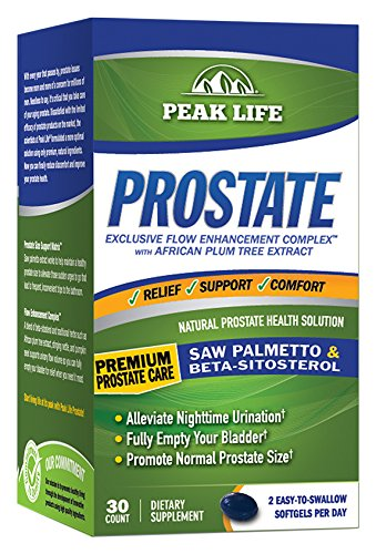Peak Life Prostate Sitosterol Supplement