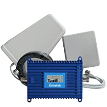 Lintratek Signal Boosters AWS 1700MHz/2100MHz 4G LTE Mobile Phone Signal Amplifier Band 4 Cell Phone Signal Repeater Full Kit