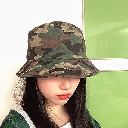 YSYNCAP Bucket Hat Camouflage Panama Bucket hat m/änner Frauen doppelschichten Reversible bob Hut hip hop gorros Angeln Fischer Hut