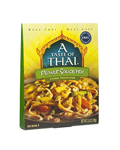 A Taste of Thai Peanut Sauce Mix, 3.5 oz Box, 6 Piece