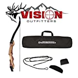 Samick Sage Recurve Bow w/ Case Vision Outfitters Pack